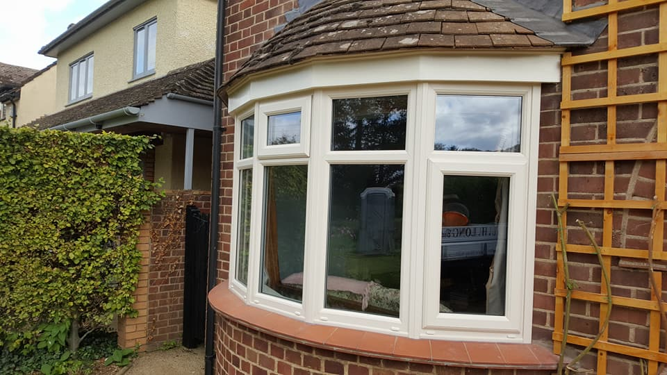 2 of 3: Fitted new replacement pvc windows and decorated soffits and fascias at same property as above.